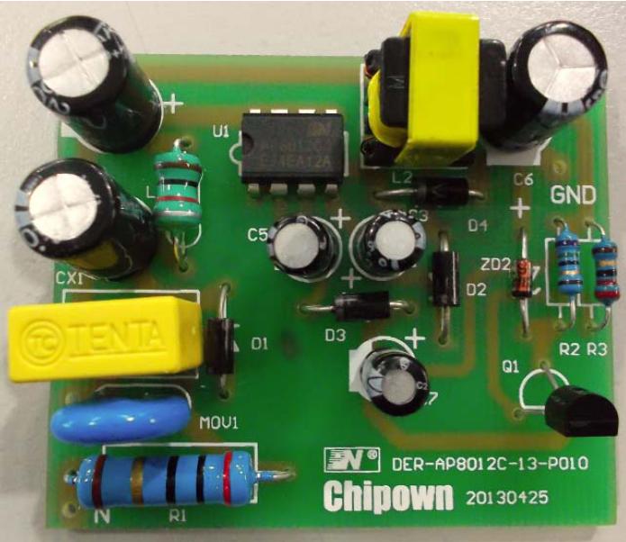 电路描述 该电源采用buck-boost方案,是非隔离开关电源.
