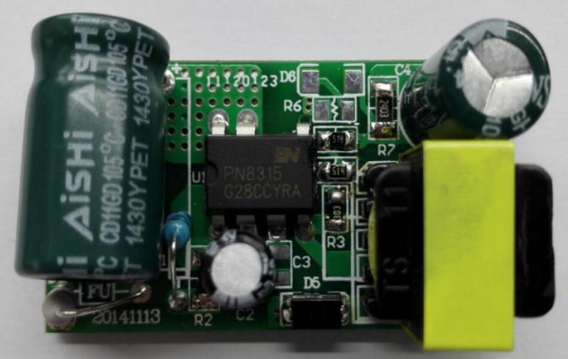 的 ic pn8315 8-24w 非隔离led 驱动方案的原理图,bom和pcb layout