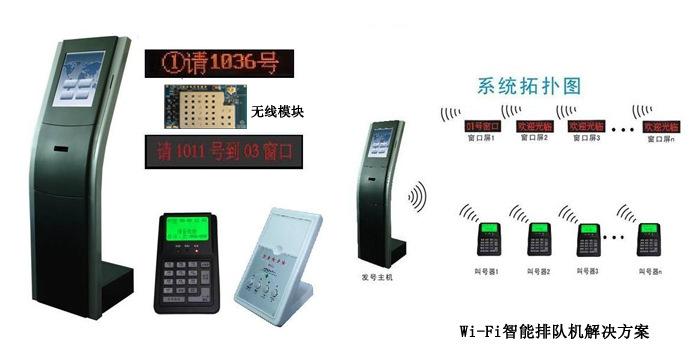 Wi-Fi智能排队机解决方案