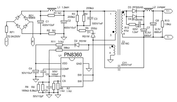 5v/2a充电器应用方案_手机产品_数码通讯产品方案