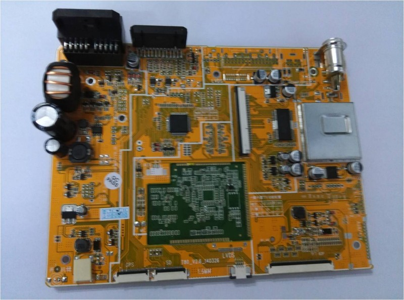 T80主板PCBA构架图