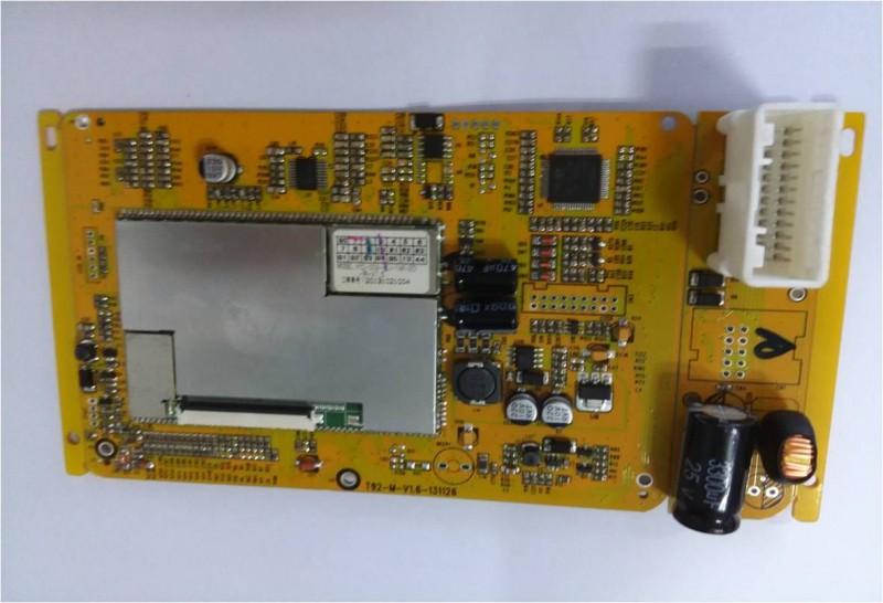 T92主板PCBA构架图
