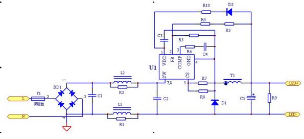 电路 电路图 电子 原理图 595_272