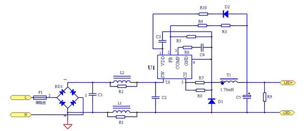 电路 电路图 电子 原理图 612_265